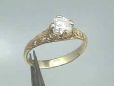 Lydia's engagement ring