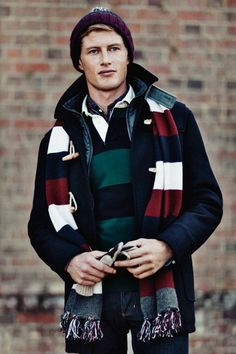 Hackett London 2011-2012 Fall Winter Mens Campaign Brochure
