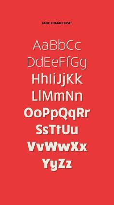 RuckSack Typefamily + 2 free weights by Jeff Schreiber, via Behance