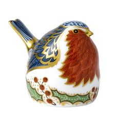Royal Crown Derby Christmas Robin Paperweight