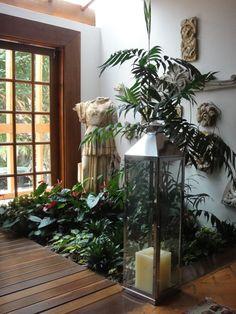 casa com jardim interno - Pesquisa Google