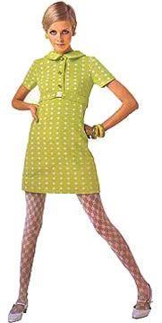 Just the shoes Twiggy shift dress yellow green day casual mini mod Sixties Fashion, Retro Fashion, Trendy Fashion, Fashion Models, Vintage Fashion, 1960s Mod Fashion, Sporty Fashion, Ski Fashion, Fashion Pics