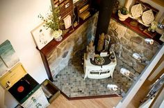 wood stove is a must have