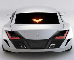 Batman Brake Light Mask $15--my god I need this!
