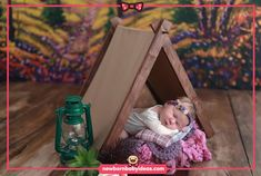 Wooden tent theme newborn photo shoot. Newborn Baby Photography, Newborn Photos, Beautiful Babies, Photo Shoot, Tent, Toddler Bed, Kids, Home Decor, Newborn Pics