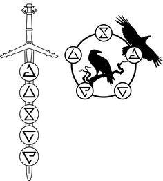 I am thinking about getting a Witcher themed tattoo on my calf. The Witcher 3, The Witcher Books, Virgo Tattoo Designs, Tattoo Sleeve Designs, Sleeve Tattoos, Tattoo Finder, Witcher Tattoo, Lord Of The Rings Tattoo, Knight Tattoo