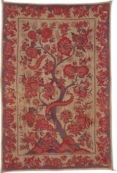 Indian, Coromandel Coast, made for the Indonesian market. Palampore, 18th century.