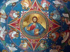 Orthodox Way of Life Catholic Art, Religious Art, Fresco, Tempera, Christian Artwork, Byzantine Icons, Jesus Pictures, Orthodox Icons, Mural Painting