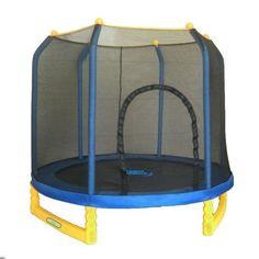 $349  Upper Bounce 7-ft. Indoor / Outdoor Classic Trampoline and Enclosure Set