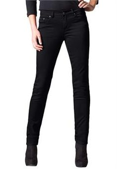 44f0588aefe Denim   Co. Petite Perfect Denim Smooth Waist Straight Leg Jeans ...