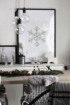 Декоративный снегопад: новогодний декор, который каждому по карману. - Colors.life