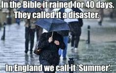 10 Modern Myths about And the real Truth behind them! So you think you know all about England? Think again! Does it always rain? Do we still have that stiff upper lip? You will be surprised! Funny Weather, Wet Weather, Weather Quotes, Smell Of Rain, Very Funny Pictures, Ancient Myths, Flood Risk, British Summer, Fandom Crossover
