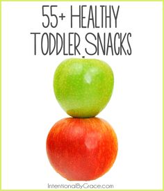 55+ toddler snacks you and your toddler will love!