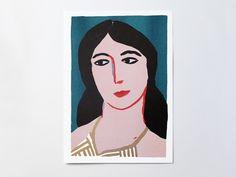 Woman's Portrait  |  Léa Maupetit