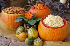 DIY pumpkin bowls