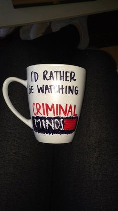 Custom Criminal Minds mug made unique for you by homeyhan on Etsy