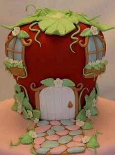 strawberry shortcake cake: