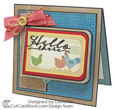 Scraps of Life: Friendship Gift Card Holder - This card has lots of hiding places for images as well as  a gift card. Graphic 45 makes this card extra-special. You'll love Gloria Stengel's great tutorial.