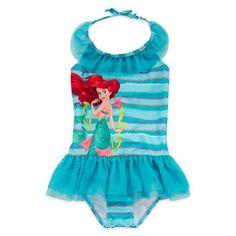 Disney (Disney) USA products Little Mermaid Ariel Ariel Princess swimsuit swimwear girl girls kids [parallel import] Disney Collection Ariel Swimsuit - Girls 2-10 toy store
