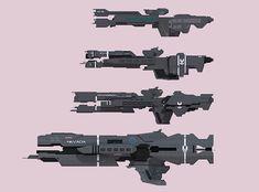 Halo UNSC ships by SplinteredMatt on DeviantArt Spaceship Art, Spaceship Design, Concept Ships, Concept Art, Unsc Halo, Halo Ships, Halo Armor, Starship Concept, Sci Fi Spaceships