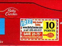 Betty Crocker Points