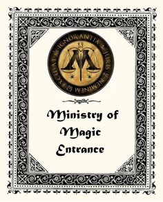 Ministry of magic entrance !