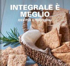 Integrale è meglio – Idee per il tuo menu Italian Biscuits, Pizza, Gluten, Cupcake, Menu, Sweets, Bread, Foods, Recipes