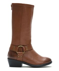 Another great find on #zulily! Whiskey Tall Phillip Harness Leather Boot #zulilyfinds