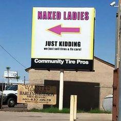 Naked Ladies....