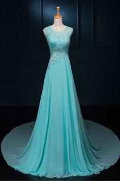 Elegant Prom Dresses, A-line Sleeveless Evening Dress,Women's Dress for Party