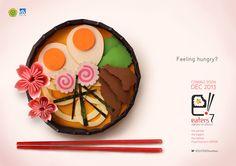 "Eaters 7 ""Zakura no Shiizun"" by Ira Carella Wijaya, via Behance"