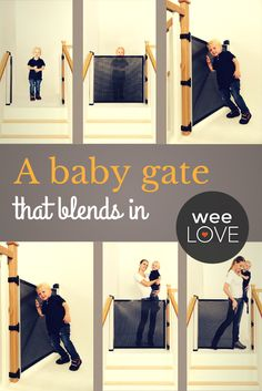 A baby gate that blends in | Want to get weeLove in your inbox? www.wee.co/weelove