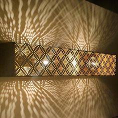 Handmade Moroccan Bathroom Vanity Bar-Brass – Little Light Bazaar Moroccan Floor Lamp, Moroccan Bathroom, Moroccan Lighting, Moroccan Tiles, Modern Moroccan, Moroccan Decor, Moroccan Interiors, Sconce Lighting, Vanity Lighting