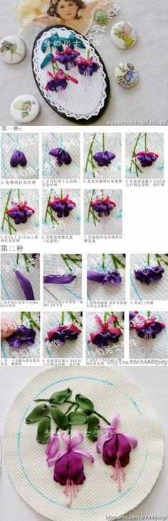 DIY Hand Ribbon Embroidery DIY Projects | UsefulDIY.com