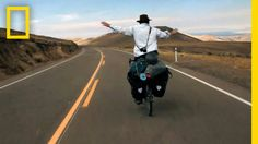 A Bike Ride Across 2 Continents Is The Unforgettable Adventure Of His Life National Geographic Society, Inspirational Videos, Wanderlust Travel, Continents, Short Film, Filmmaking, South America, Life Lessons, Traveling By Yourself