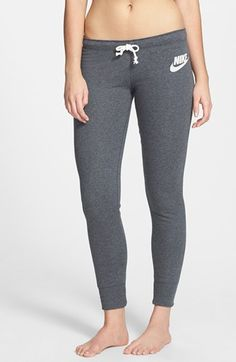 french terry leggings / nike