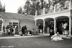 One of my favorite photo's - picture of all the wedding guests...