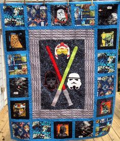 Star Wars quilt for Rylan