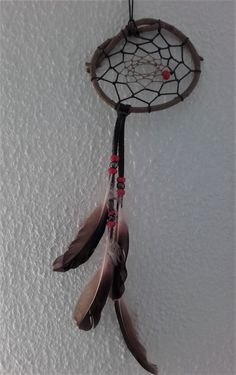 attrape rêves bois naturel ref: DC 140118 de la boutique IndianHeritageArts sur Etsy
