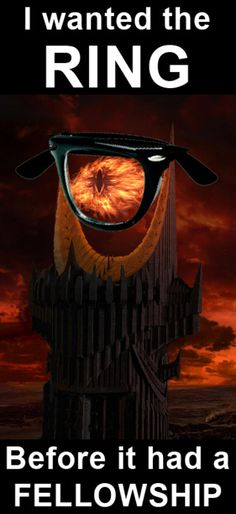Hipster Sauron