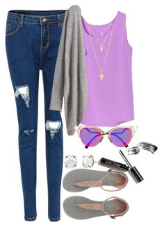 """""""Tuesday"""" by happy123321 ❤ liked on Polyvore featuring Fendi, TOMS, Forever 21 and Irene Neuwirth"""
