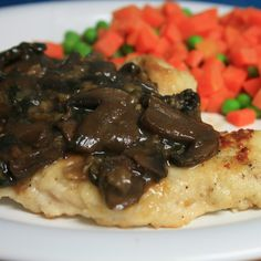 Dairy-free by Design: Chicken with Mushroom Wine Sauce