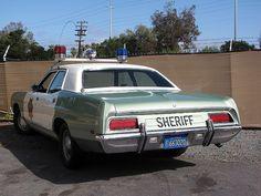1971 Ford Custom 500 Police Cruiser