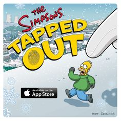The Simpsons: Tapped Out transformed into Winter Wonderland with all-new update - Game Trailers, Game Reviews, Gameplay Videos