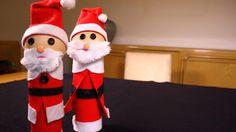La casa de Alejandra: Cómo Reciclar unos Rollos y Hacer un Lindo Santa para Navidad DIY Alejandra Coghlan