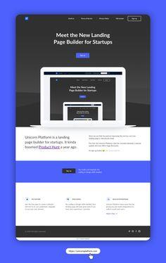 Modern website builder for startups. Powered by unicorn magic. Landing Page Generator, Landing Page Builder, Modern Website, Fun Facts, Unicorn, A Unicorn, Funny Facts, Interesting Facts, Unicorns