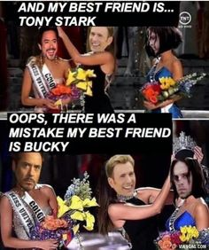 Who is this jerk that made this my heart hurts and my cheeks too. That Ms. Universe competition was bull