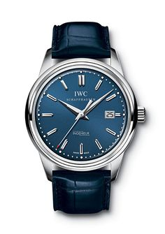 IWC  The most refined of the bunch. International Watch Company's dress model gets a modern update with a richly colored dial and a luxe alligator strap to match.    Ingenieur automatic edition laures sport ($8,000) by IWC, torneau.com        Read more: http://www.esquire.com/the-side/style-guides/blue-dial-watches-fall-2012#ixzz2BJ4auaDh