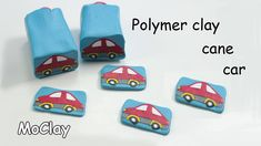 Polymer clay Millefiori Car Cane Tutorial
