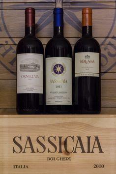 Sassicaia wine, Tuscany